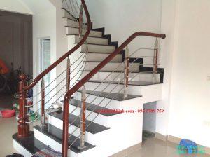 Cầu thang Inox tại Ninh Bình